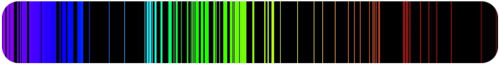 Iron emission spectrum