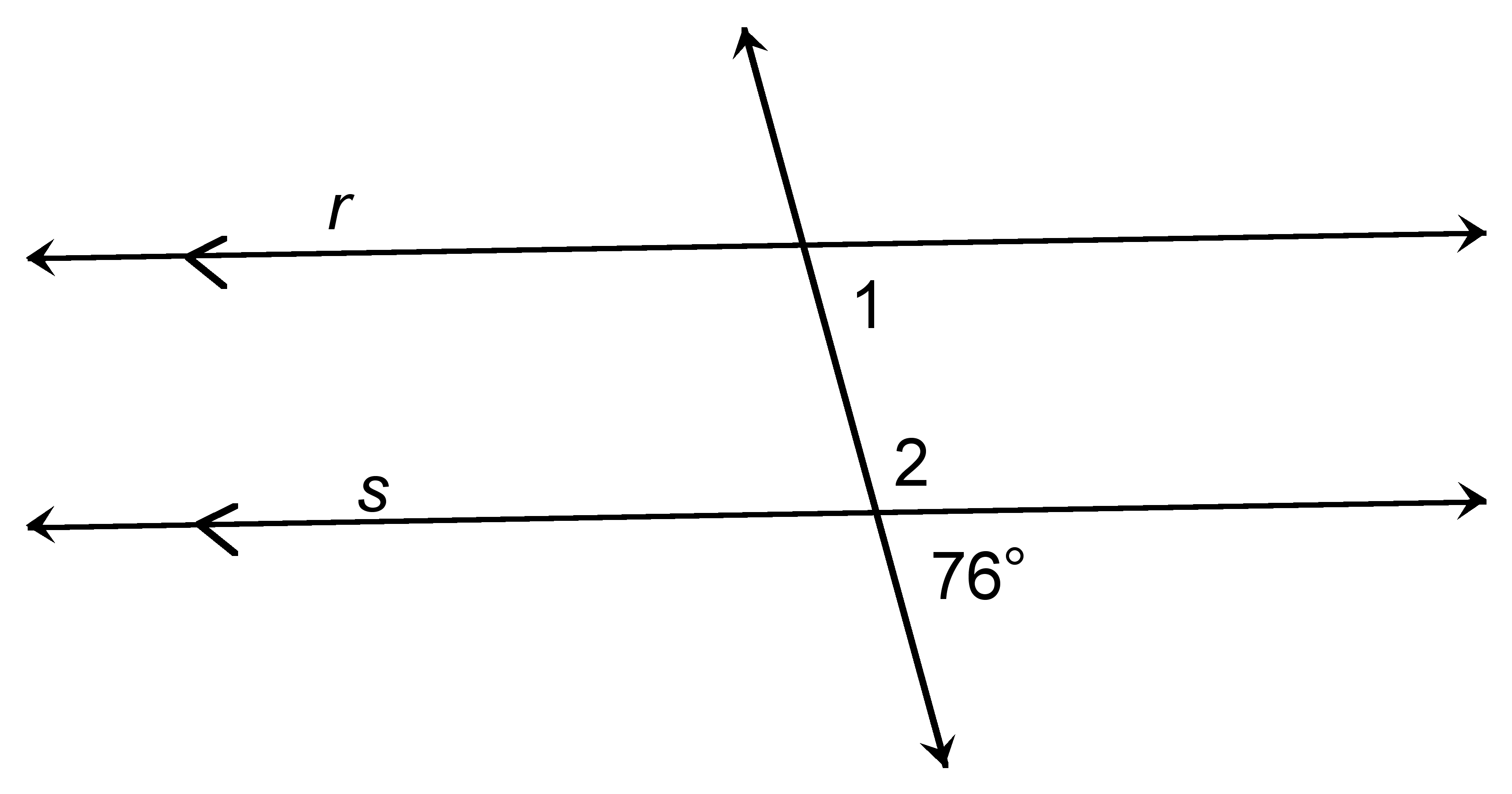 Parallel lines and transversals ck 12 foundation for Consecutive exterior angles theorem