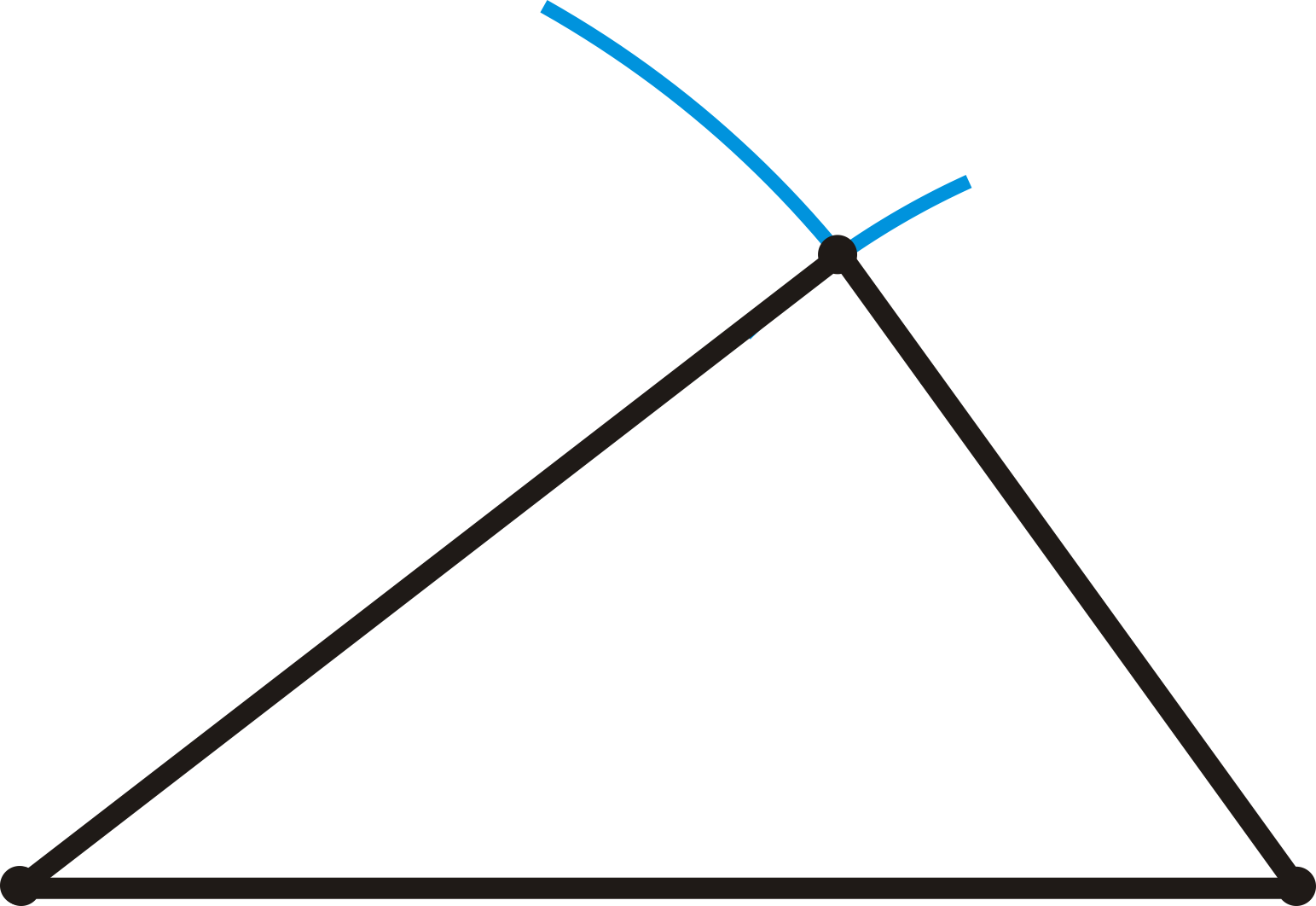 Drawing Lines With Triangle Combination : License cc by nc