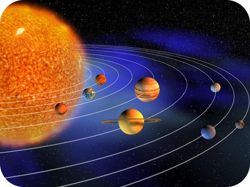 gravity planets solar system - photo #2