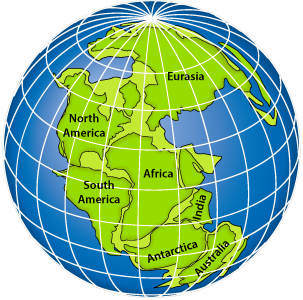 Pangea Map Puzzle Worksheet Moreover Plate Tectonics Puzzle Worksheet ...